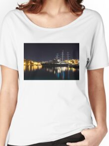 Reflecting on Malta - Luxury Superyachts in Valletta Women's Relaxed Fit T-Shirt