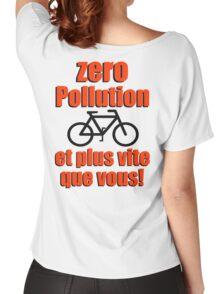 Zero Pollution (Fr) Women's Relaxed Fit T-Shirt