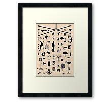 the kismet mobile Framed Print