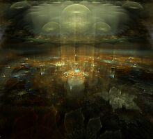 A Meeting of Civilizations by Craig Hitchens - Spiritual Digital Art