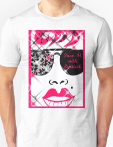 Face It With Lipstick T-Shirt
