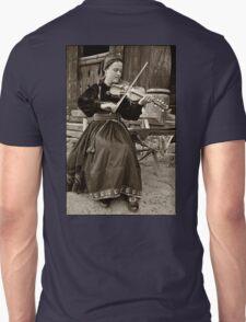 Hardanger fiddle player Unisex T-Shirt