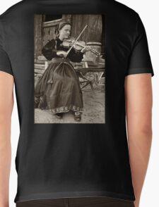 Hardanger fiddle player Mens V-Neck T-Shirt