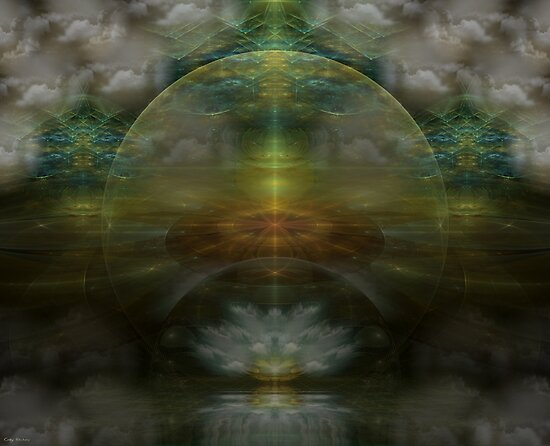 Beyond Religion by Craig Hitchens - Spiritual Digital Art