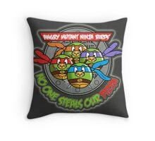 Angry Mutant Ninja Birds Throw Pillow
