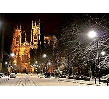 A Magical Evening In York Photographic Print