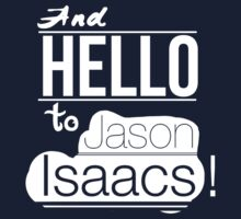 And hello to Jason Isaacs by DLIllustration