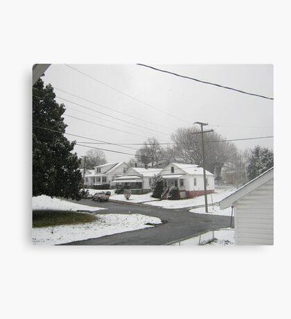 Feb. 19 2012 Snowstorm  Metal Print