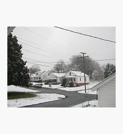 Feb. 19 2012 Snowstorm  Photographic Print