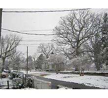 Feb. 19 2012 Snowstorm 3 Photographic Print