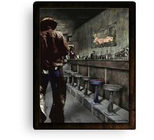 The Bodie Saloon Canvas Print