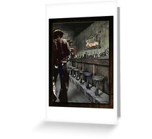 The Bodie Saloon Greeting Card