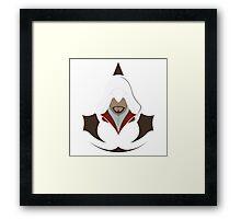 Ezio Auditore da Firenze Minimalistic Design Framed Print