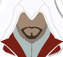 Ezio Auditore da Firenze Minimalistic Design Sticker