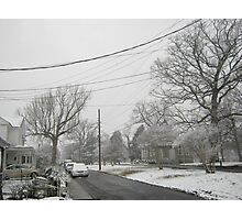 Feb. 19 2012 Snowstorm 5 Photographic Print
