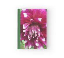 Purple Dahlia Hardcover Journal
