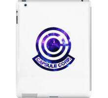 Galaxy Capsule Corp Logo iPad Case/Skin