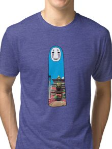 no face 4 Tri-blend T-Shirt