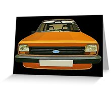 FORD FIESTA CAR T-SHIRT Greeting Card