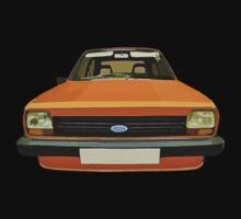 FORD FIESTA CAR T-SHIRT by ImageMonkey