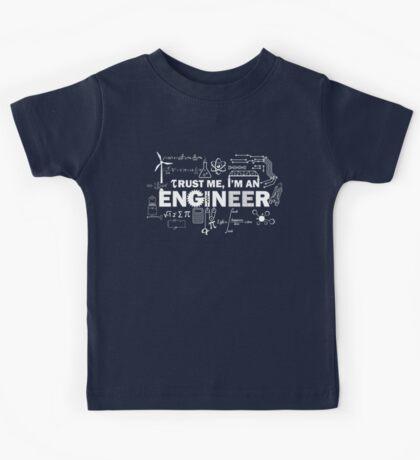 Trust Me I'm An Engineer Kids Tee