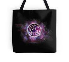 Open Art Studio - Galaxy Grunge Black Logo Tote Bag