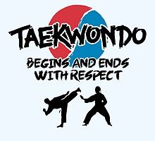 Taekwondo Begins and Ends with Respect by THINKOREA