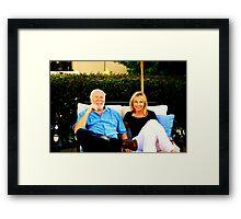Lovely Parents Framed Print