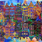 Amsterdam Abstract by PhotoDream Art