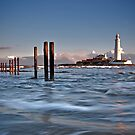 St Mary's Lighthouse by Phillip Dove