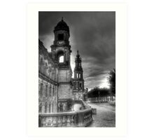 Old town Dresden Germany Art Print