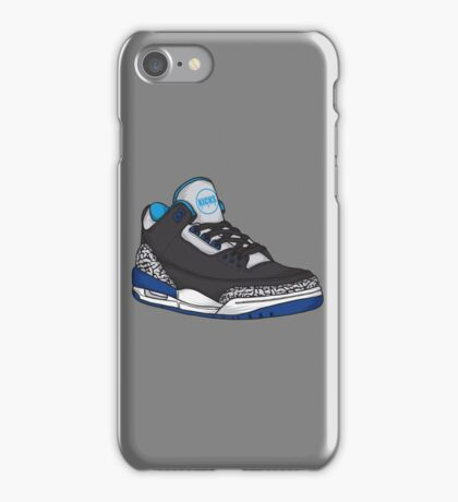 Shoes Blue Grey (Kicks) iPhone Case/Skin