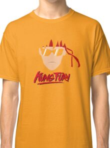Kung Fury Minimalistic Design Classic T-Shirt