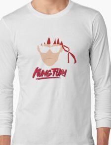 Kung Fury Minimalistic Design Long Sleeve T-Shirt