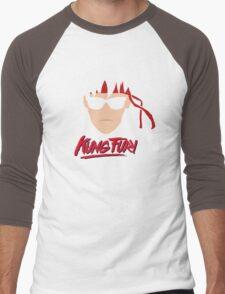 Kung Fury Minimalistic Design Men's Baseball ¾ T-Shirt