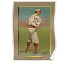 Benjamin K Edwards Collection Harry Lord Boston Red Sox Chicago White Sox baseball card portrait Poster