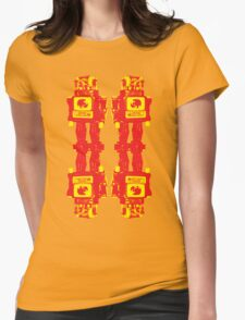 Robot Robot Womens Fitted T-Shirt