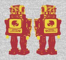 Robot Robot One Piece - Short Sleeve