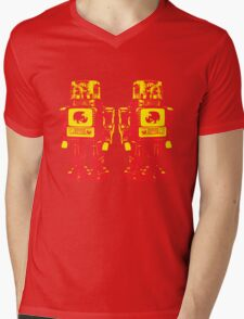 Robot Robot Mens V-Neck T-Shirt