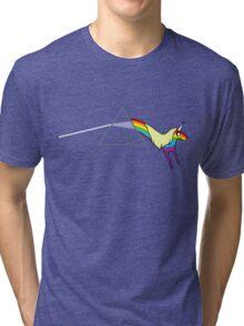 Rainicorn Floyd Tri-blend T-Shirt