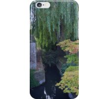 Pond with Maple Tree, Christ Church College, Oxford, UK iPhone Case/Skin