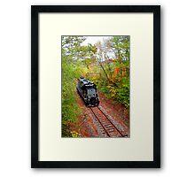 Autumn Railway II  Framed Print