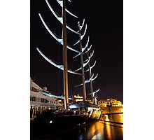 She is So Special - the Luxurious Maltese Falcon Superyacht Photographic Print