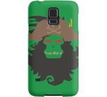 The Ghost Pirate LeChuck Minimalistic Design Samsung Galaxy Case/Skin