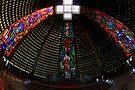 Cathedral Interior, Rio de Janeiro, Brazil by Carole-Anne