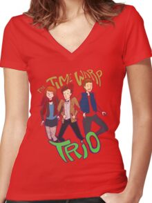 Time VWORP Trio Women's Fitted V-Neck T-Shirt