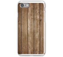 Wooden Planks iPhone Case/Skin
