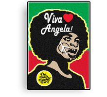 VIVA ANGELA DAVIS! Canvas Print