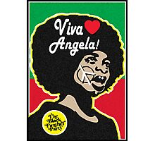 VIVA ANGELA DAVIS! Photographic Print
