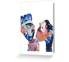 Social Media Theatre Lovers  Greeting Card